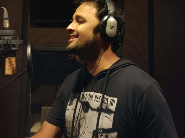 Hrishikesh Ranade in Filmix Studios
