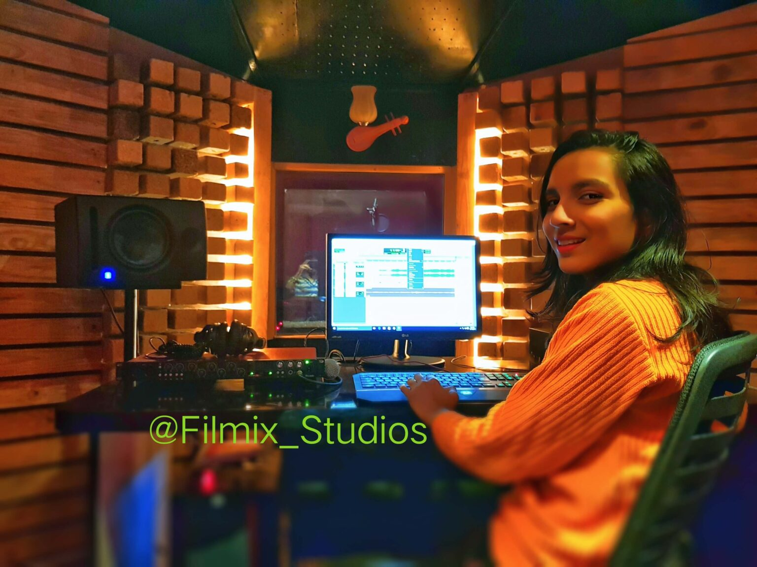 Neha Sadhale - Creative head in one of the top recording studio in pune